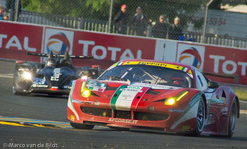 AF Corse Ferrrari 458 winnaar Le Mans 2012 GTE Pro klasse