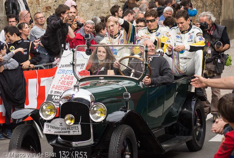 24 uur van Le Mans, parade des pilotes