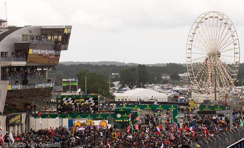 podium 24 uur van Le Mans