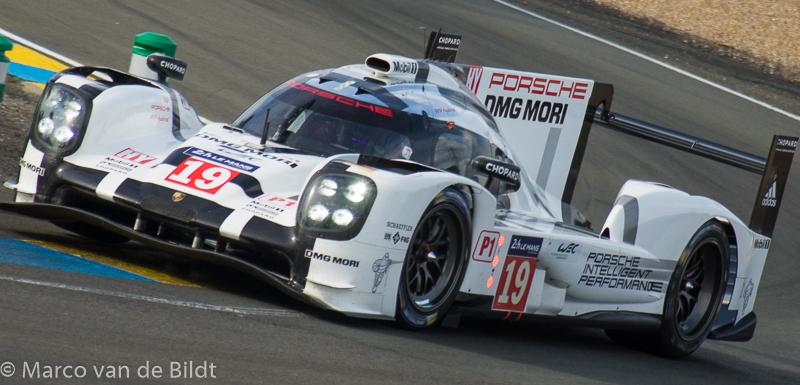 Porsche no 19 winnaar 24 uur van Le Mans 2015