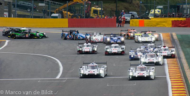 6 uur van Spa-Francorchamps start