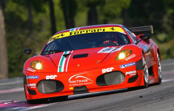 Ferrari Paul Ricard Vilander Bruni