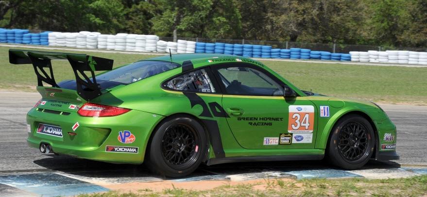 Green Hornet Racing Porsche Sebring 2012