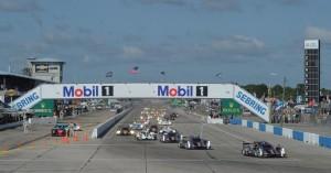 start 12 uur van Sebring 2012