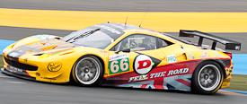 24 uur van Le Mans Ferrari 458 JMW