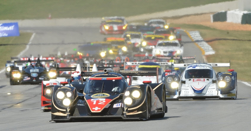 Petit Le Mans 2012 start