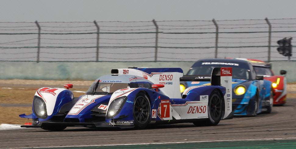 Toyota FIA WEC Shanghai
