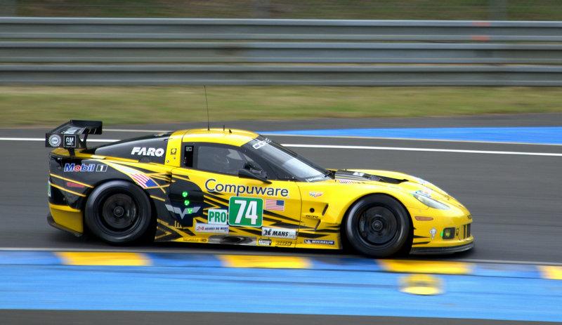 Corvette 24 uur van Le Mans 2012