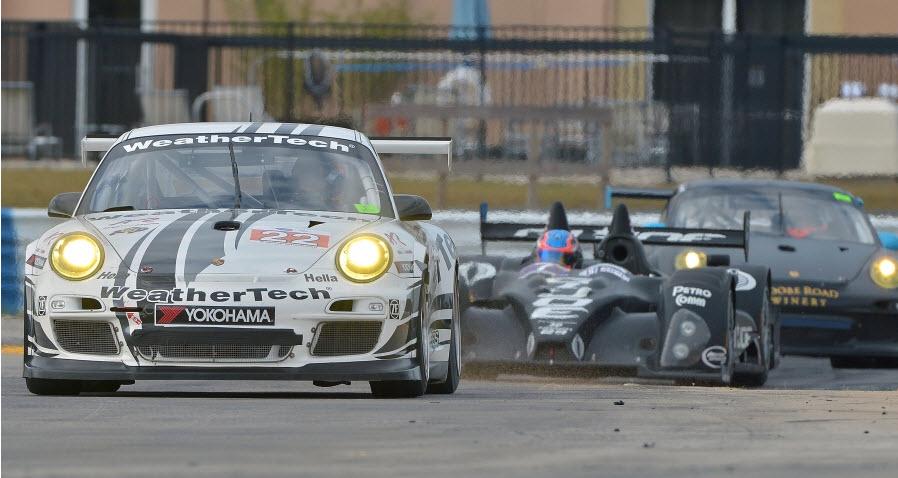 Alex Job Racing Porsche Jeroen Bleekemolen Sebring 2013