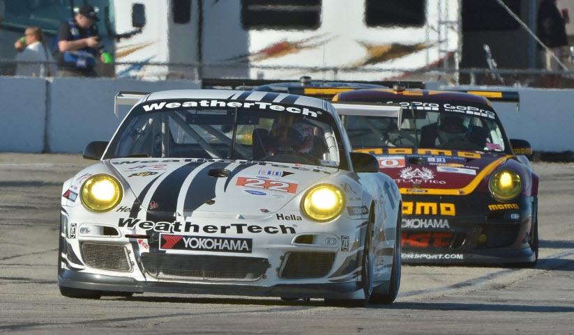 Jeroen Bleekemolen Alex Job Racing Porsche Sebring 2013