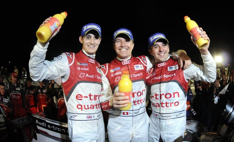 podium Audi sebring 2013