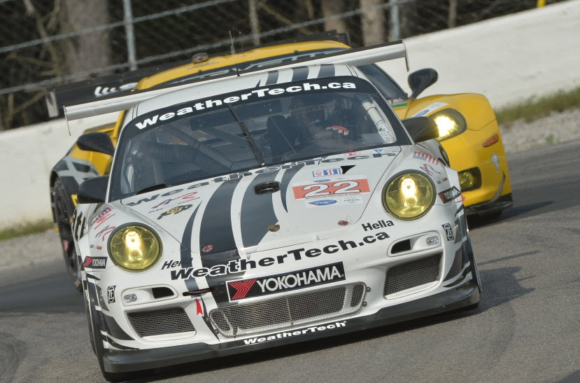 Alex Job Racing Porsche Jeroen Bleekemolen Mosport