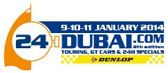 logo 24 uur van Dubai 2014