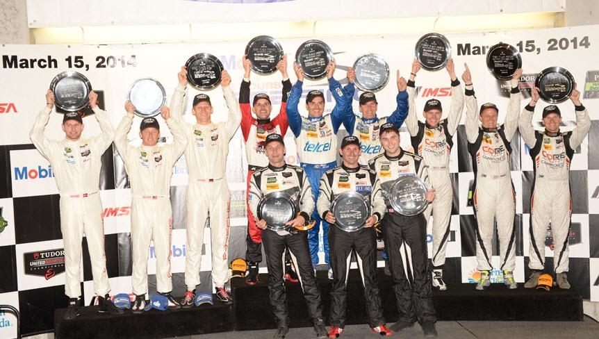 podium sebring 2014