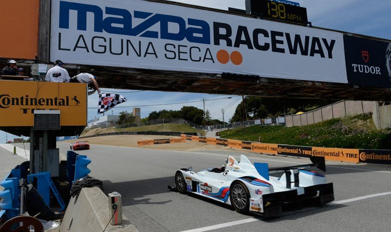Laguna Seca 2014 finish LMPC