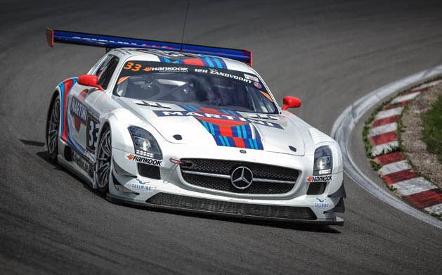Mercedes 12 uur van Zandvoort 2014