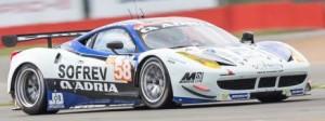 no 58 Team Sofrev ASP Ferrari
