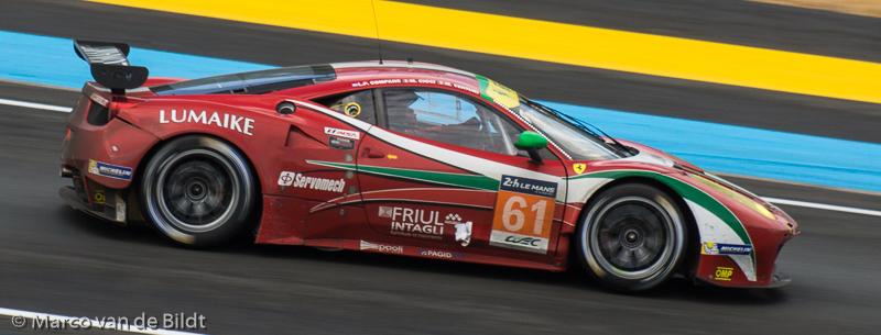 no. 61 Ferrari 458 Italia