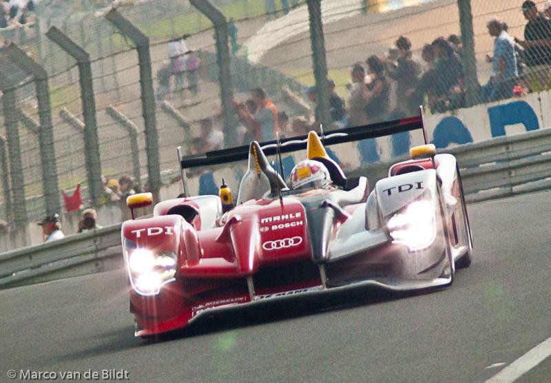 Tom Kristensen Audi R15 TDI