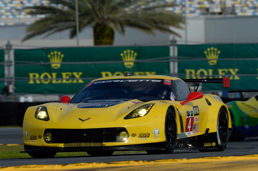 Corvette 24 uur van Daytona 2015