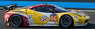 no 66 JMW Ferrari