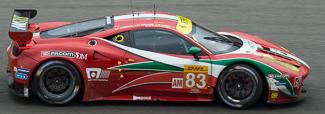 no 83 AF Corse Ferrari