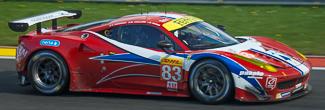 no 83 Ferrari