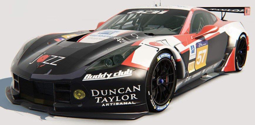 no 57 team AAI Corvette c Team AAI