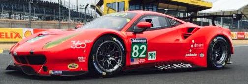 no 82 Risi Competizione Ferrari c Risi Competizione