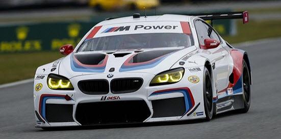 De no. 24 BMW met o.a. Nicky Catsburg ((c) imsa.com).