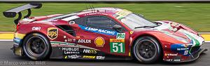 no 51 AF Corse Ferrari 488