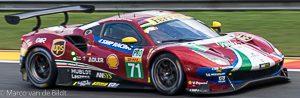 no 71 AF Corse Ferrari 488