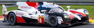 no 8 Toyota Gazoo Racing TS050