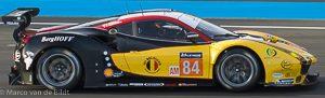 no 84 JMW Motorsport Ferrari