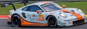 no 86 Gulf Racing Porsche 911 RSR